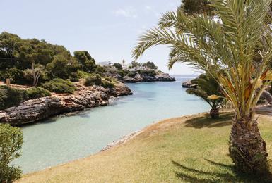 Spiaggia Hotel AluaSoul Mallorca Resort (Solo Adulti) Cala d'Or, Mallorca