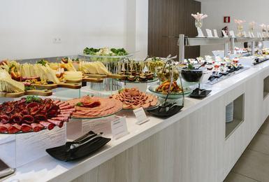 Buffet Hotel AluaSoul Mallorca Resort (Solo Adulti) Cala d'Or, Mallorca